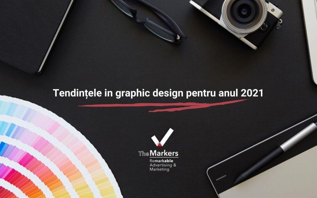 Care sunt tendintele in graphic design pentru anul 2021?